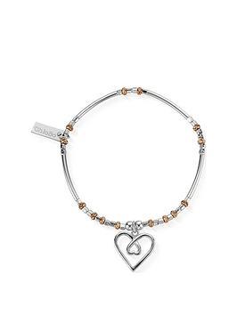 chlobo-limited-edition-rose-sterling-silver-entwined-heart-bracelet