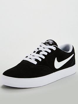Nike Nike Sb Check Solar - Black/White Picture