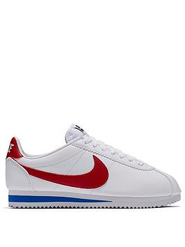 Nike Nike Classic Cortez Leather - White Picture