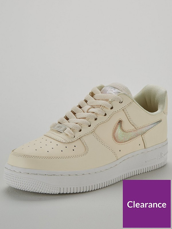 Air Force 1 '07 Se Premium - Cream/White