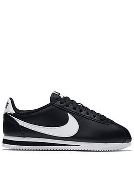 Nike Nike Classic Cortez Leather - Black Picture