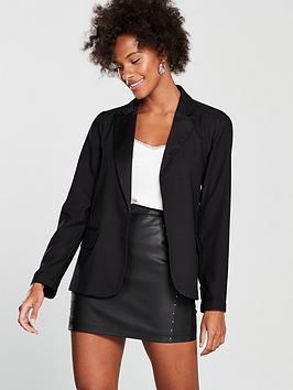 oasis-relaxed-satin-back-crepe-jacket-blacknbsp