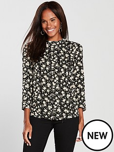 oasis-ditsy-lace-trim-blouse-blacknbsp
