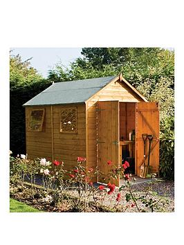 rowlinson-8-x-6ft-premier-shed