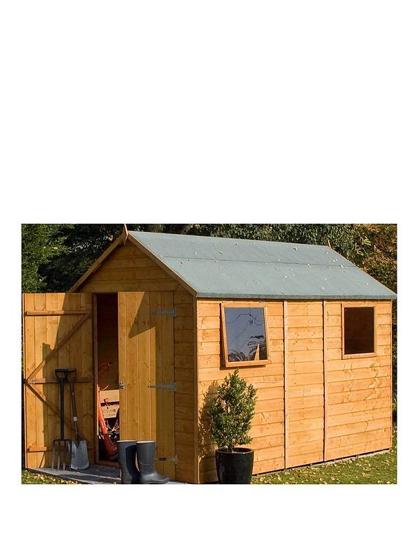 Rowlinson 10x6 Ft Premier Garden Shed