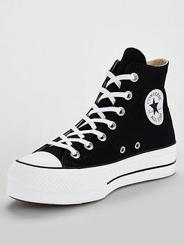 Converse Converse Chuck Taylor All Star Platform Lift Hi - Black/White Picture