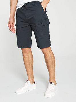 v-by-very-cargo-short-dark-grey
