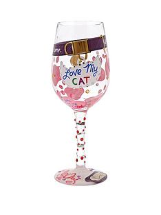lolita-love-my-cat-wine-glass