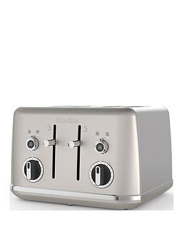Breville    Lustra Shimmer Cream 4 Slice Toaster