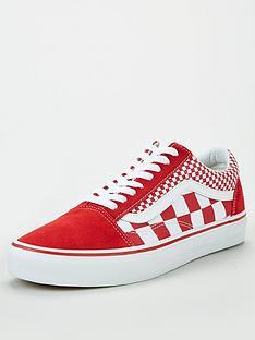 c0ff4f6a5589 Vans UA Old Skool - Red White