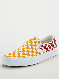 734df10a93e3e2 Vans Ua Classic Checkerboard Slip-on