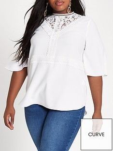 ri-plus-lace-top-white