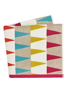 harlequin-azul-100-cotton-terry-woven-jacquard-bath-towel-collection-ndash-lagoon-amp-cerise