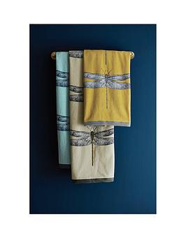 harlequin-demoiselle-100-cotton-bath-towel-collection-ndash-goldgrey