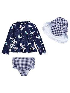 mini-v-by-very-girls-unicorn-and-gingham-3-piece-swim-set-navy