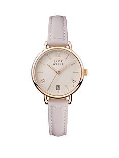jack-wills-jack-wills-white-and-gold-detail-date-dial-white-leather-strap-ladies-watch