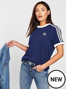 adidas-originals-3-stripe-tee-navynbsp
