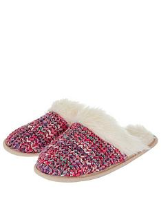 accessorize-fluffy-spacedye-mule-slipper-multi