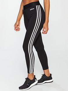 adidas-essentials-3-stripe-tight-blacknbsp