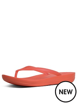 1a6254692ca FitFlop Fitflop Iqushion - Pearlised Flip Flop