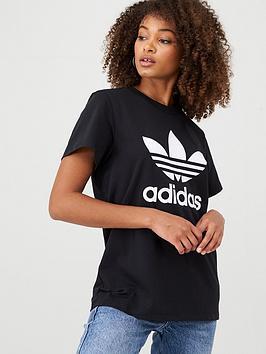 adidas Originals Adidas Originals Boyfriend Tee - Black Picture
