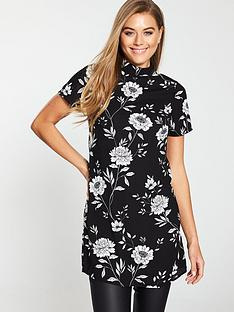 v-by-very-printed-crepe-tunic-floral