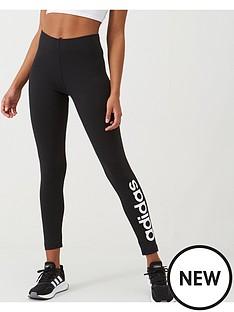 adidas-linear-tight-black