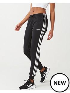 adidas-essential-3-stripe-pant-blackwhite