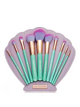spectrum-mermaid-dreams-the-glam-clam-10-piece-makeup-brush-set