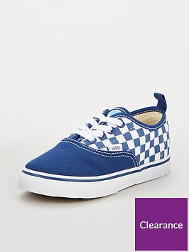 vans-vans-checkerboard-authentic-elastic-lace-infant-trainer