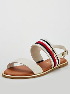 tommy-hilfiger-corporate-ribbon-flat-sandals-whisper-white