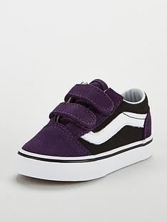 Vans Old Skool Velcro Infant Trainer 5ae1c0c6f6b6b