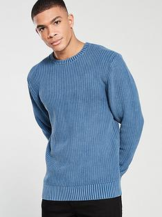 v-by-very-acid-wash-jumper-denim-blue