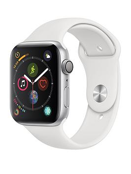 Apple Watch Series 4 (Gps), 44Mm Silver Aluminium Case With White Sport Band cheapest retail price