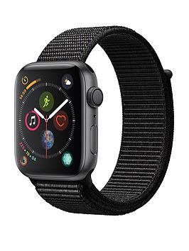 Apple Watch Series 4 (Gps), 44Mm Space Grey Aluminium Case With Black Sport Loop cheapest retail price