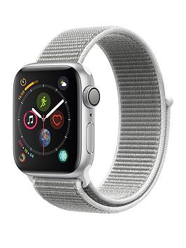 Apple Watch Series 4 (Gps), 40Mm Silver Aluminium Case With Seashell Sport Loop cheapest retail price