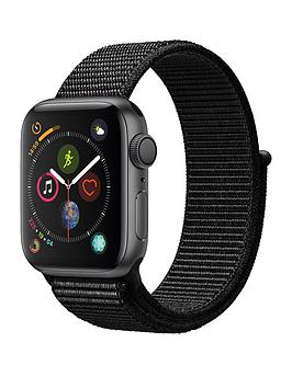 Apple Watch Series 4 (Gps), 40Mm Space Grey Aluminium Case With Black Sport Loop cheapest retail price