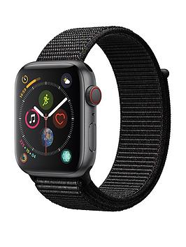 Apple Watch Series 4 (Gps + Cellular), 44Mm Space Grey Aluminium Case With Black Sport Loop cheapest retail price