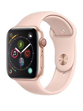 Apple Watch Series 4 (Gps + Cellular), 44Mm Gold Aluminium Case With Pink Sand Sport Band cheapest retail price