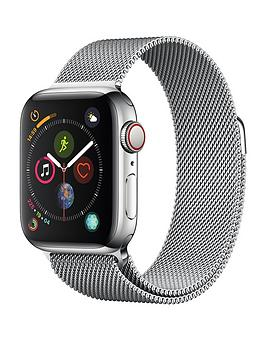 Apple Watch Series 4 (Gps + Cellular), 40Mm Stainless Steel Case With Milanese Loop cheapest retail price