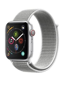 Apple Watch Series 4 (Gps + Cellular), 44Mm Silver Aluminium Case With Seashell Sport Loop cheapest retail price