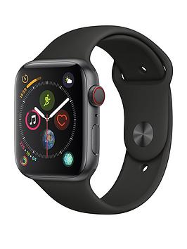 Apple Watch Series 4 (Gps + Cellular), 44Mm Space Grey Aluminium Case With Black Sport Band cheapest retail price