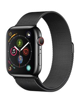Apple Watch Series 4 (Gps + Cellular), 44Mm Space Black Stainless Steel Case With Space Black Milanese Loop cheapest retail price
