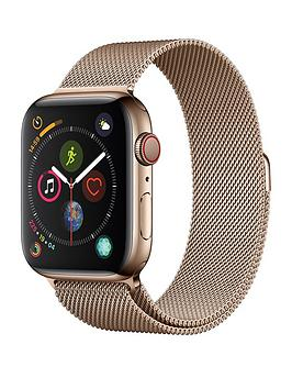 Apple Watch Series 4 (Gps + Cellular), 44Mm Gold Stainless Steel Case With Gold Milanese Loop cheapest retail price