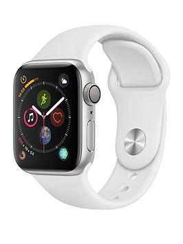 Apple Watch Series 4 (Gps), 40Mm Silver Aluminium Case With White Sport Band cheapest retail price