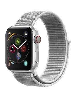 Apple Watch Series 4 (Gps + Cellular), 40Mm Silver Aluminium Case With Seashell Sport Loop cheapest retail price