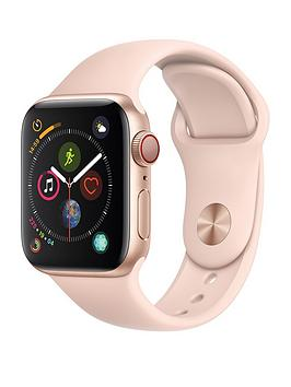 Apple Watch Series 4 (Gps + Cellular), 40Mm Gold Aluminium Case With Pink Sand Sport Band cheapest retail price