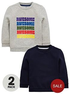 mini-v-by-very-2-pack-awesome-sweatshirts-greynavy
