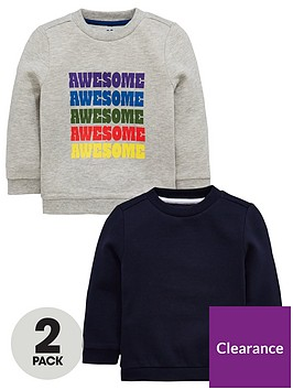 mini-v-by-very-2-pack-awesome-sweatshirts-greynavy