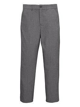 V by Very V By Very Boys Occasionwear Smart Suit Trousers - Grey Picture